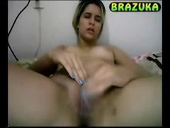 Paulinha se masturbando na webcam